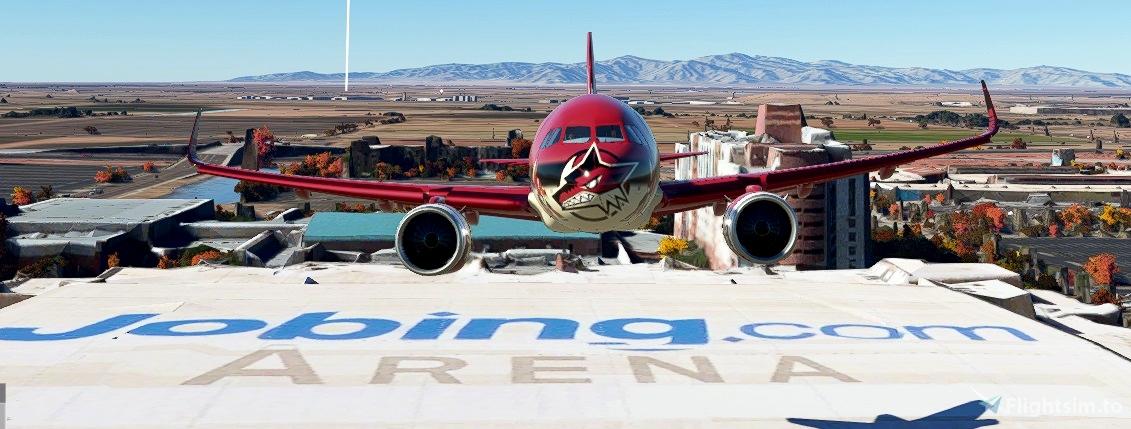 Arizona Coyotes NHL A320Neo Livery