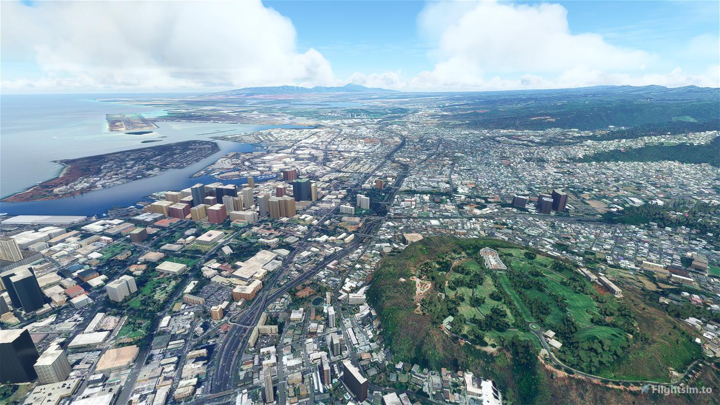 Honolulu (PHNL) Landing Challenge