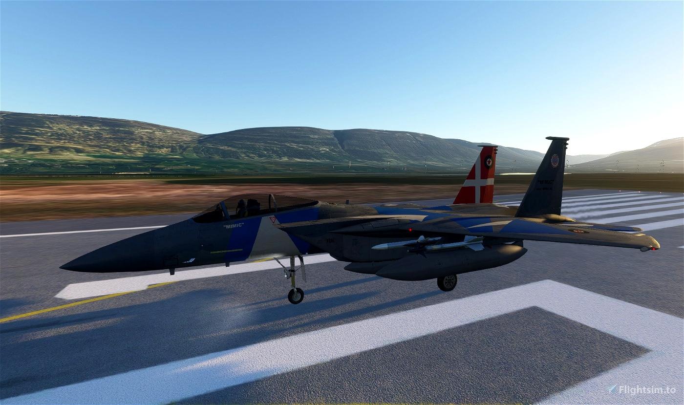 45th Mercenary SQ. F-15C