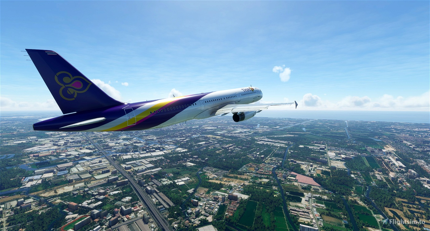 Airbus A321 Thai Airways