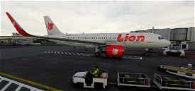 Lion Air (Engines Wings Default, Ai Working) Image Flight Simulator 2020