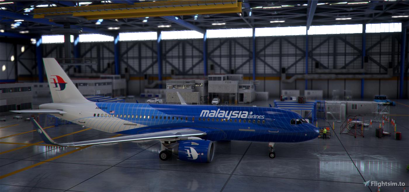 Malaysia Airlines Flight Simulator 2020