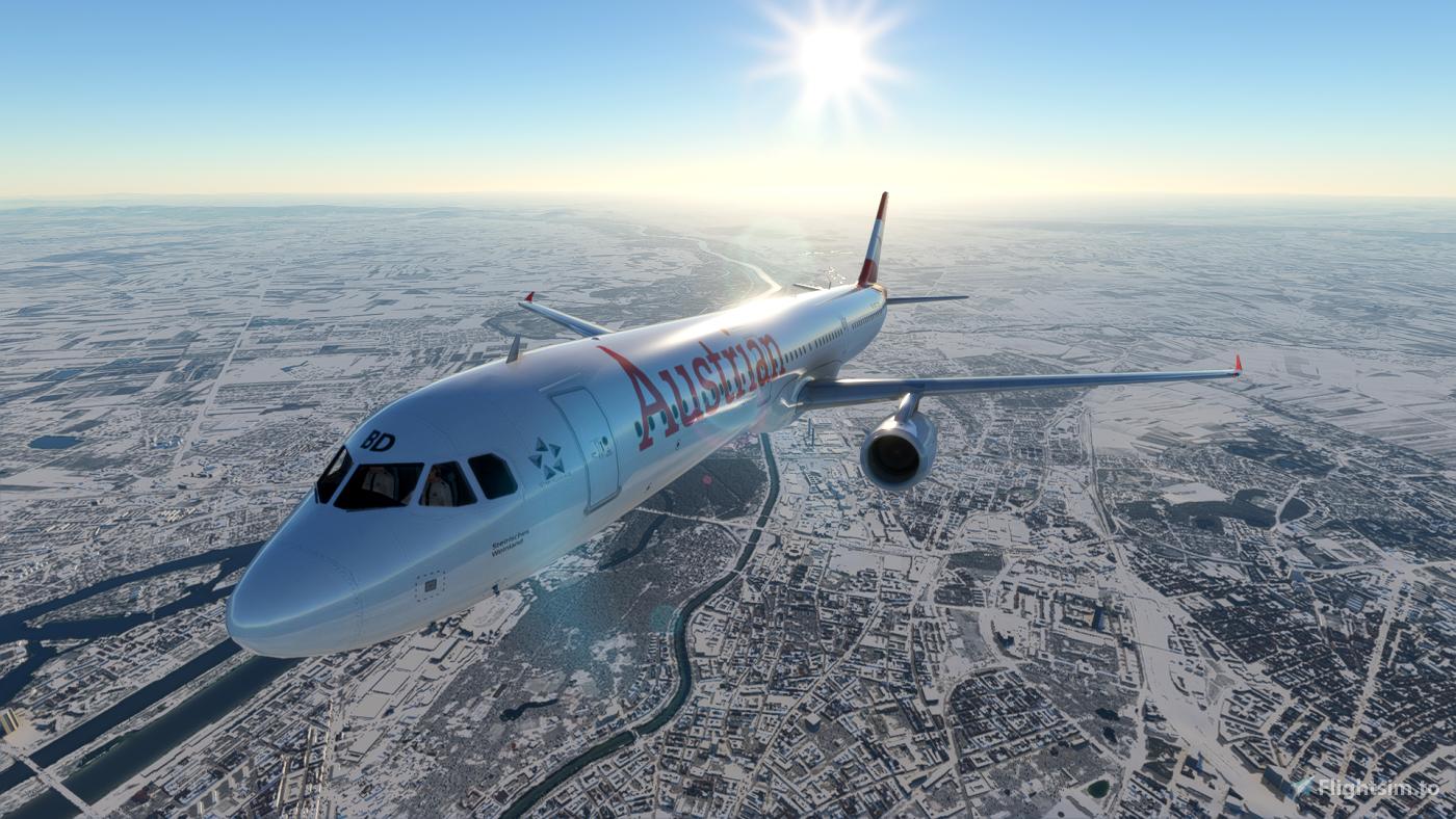 Austrian Airlines Airbus A321 Flight Simulator 2020