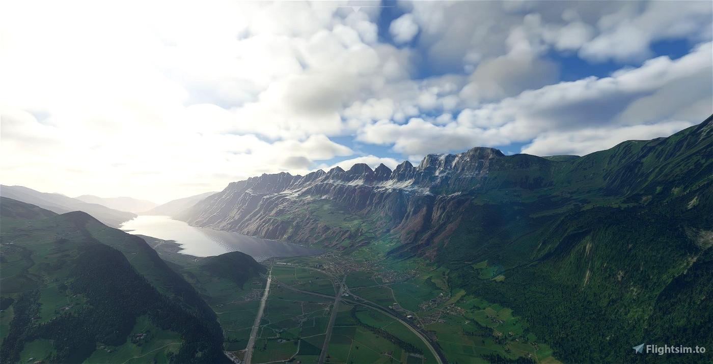 Churfirsten (Mountain Range) Switzerland