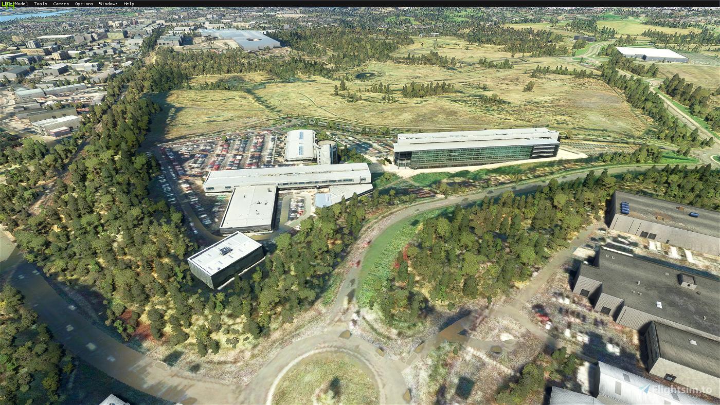 Motherwell and Wishaw enhancements Flight Simulator 2020