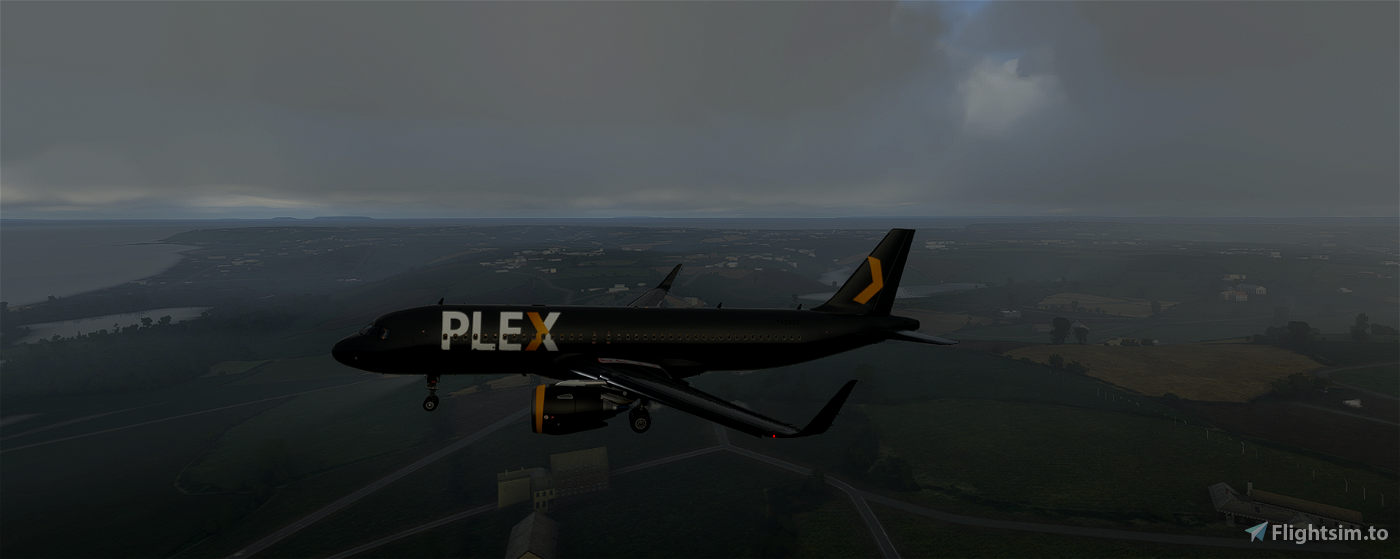 Plex A320 Custom Livery