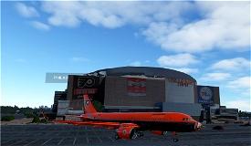 Philadelphia Flyers A320Neo NHL Livery Image Flight Simulator 2020