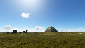 The Nekoma Pyramid, North Dakota Image Flight Simulator 2020