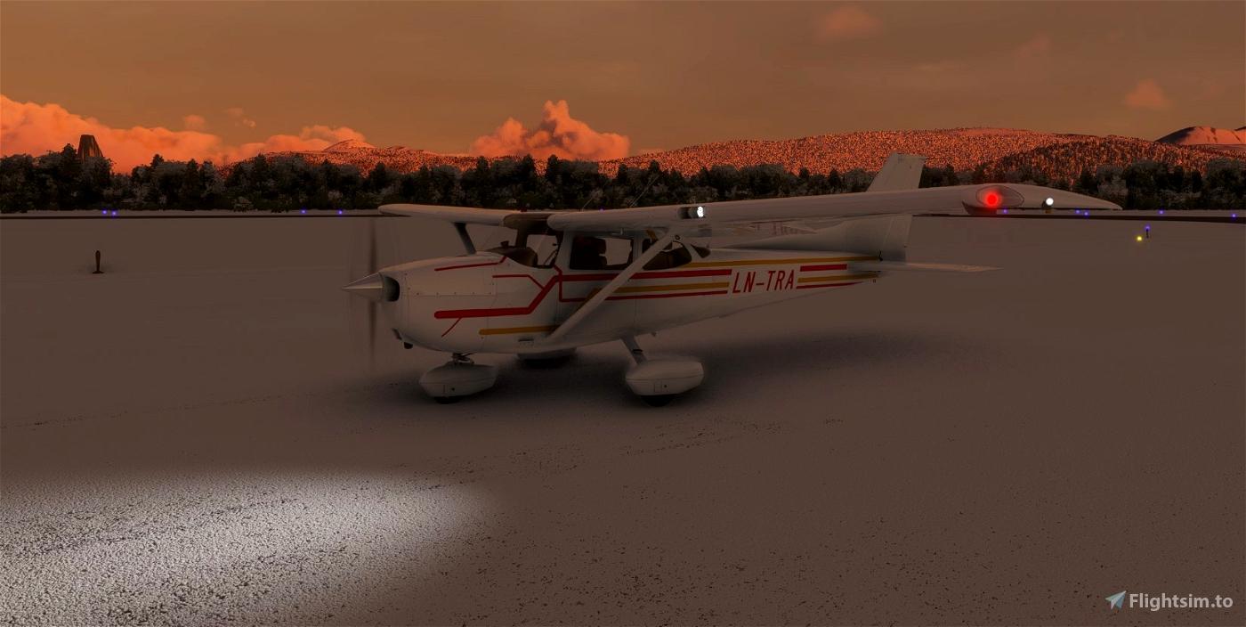 C172 Classic LN-TRA Flight Simulator 2020