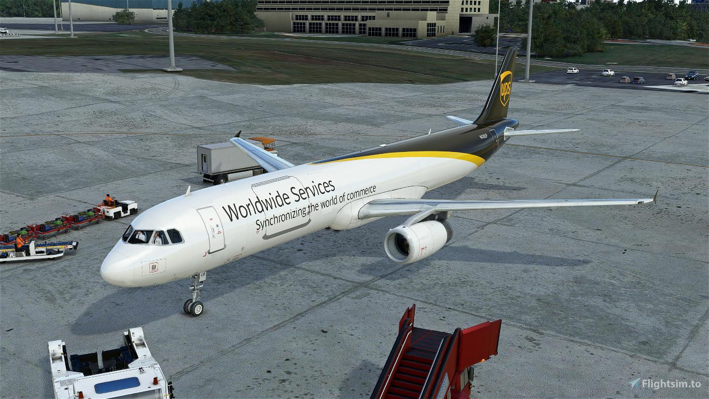 UPS A321
