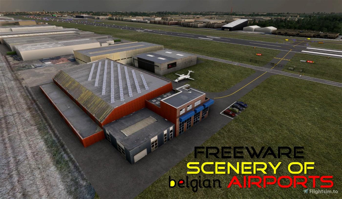 EBKT, Int Airport Kortrijk-Wevelgem, Belgium