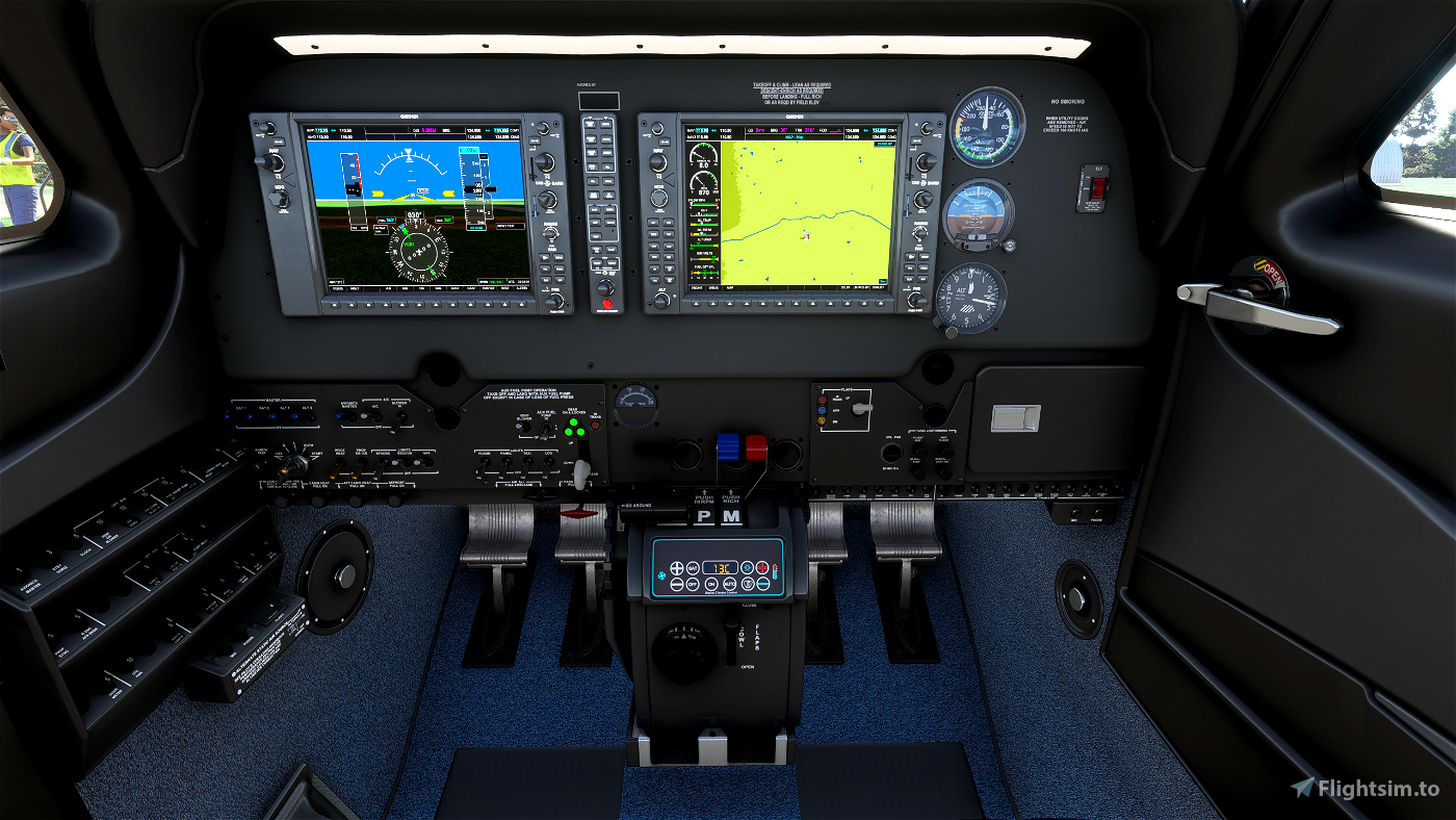 DigitalOAT in Celsius (Bonanza G36 and Baron G58) Flight Simulator 2020