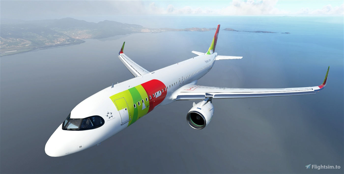 TAP Air Portugal A320neo CS-TVH Flight Simulator 2020