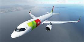 TAP Air Portugal A320neo CS-TVH Image Flight Simulator 2020