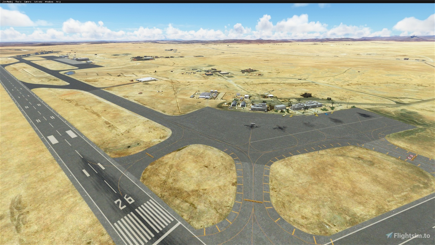 Aguenar DAAT (Airport & Lights Enhancement) Flight Simulator 2020