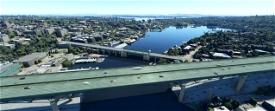 Seattle Bridges, Seattle WA USA Image Flight Simulator 2020