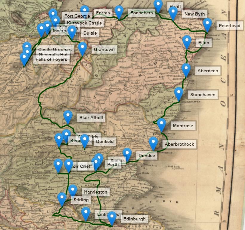 Robert Burns' Highland Tour of 1787
