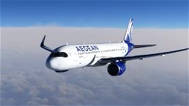 [A32NX] [8K] Aegean Airlines (SX-NEO) Image Flight Simulator 2020