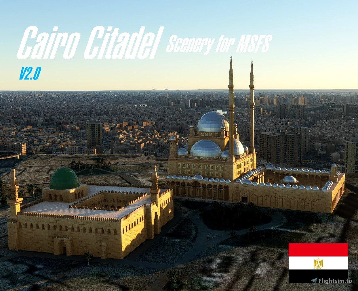 The Citadel, Cairo, Egypt Flight Simulator 2020