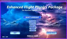 Enhanced Flight Physics Package Image Flight Simulator 2020