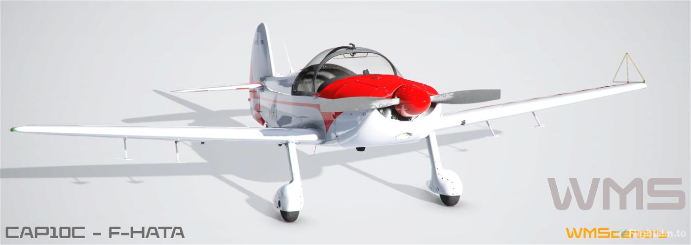 Asobo-CAP10C-F-HATA Repaint Flight Simulator 2020