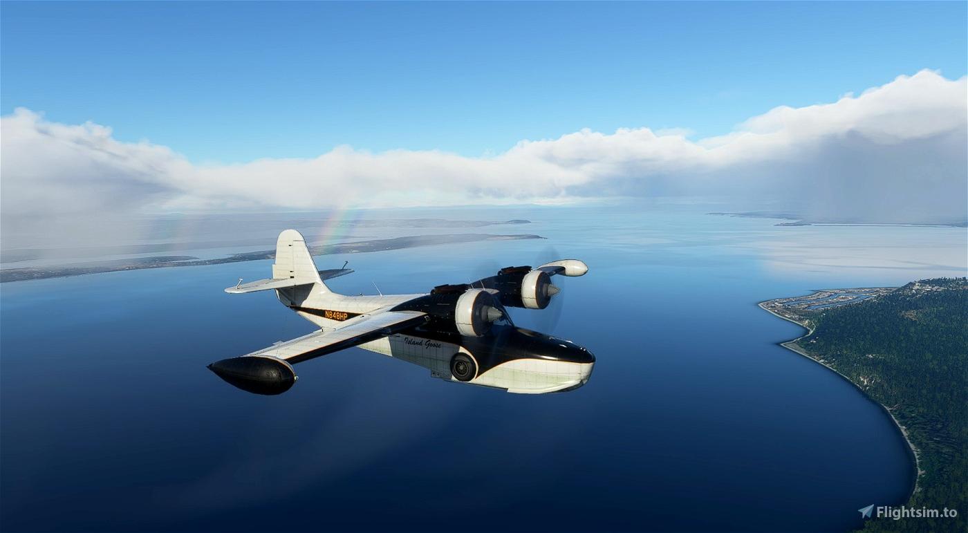 Grumman Goose N848HP Flight Simulator 2020