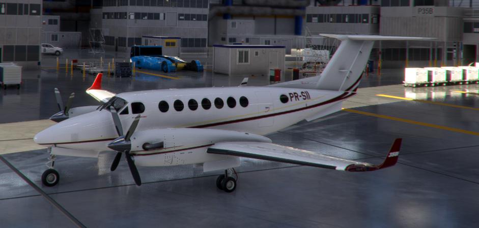 Mineradora Vale PR-SII King Air 350i Flight Simulator 2020