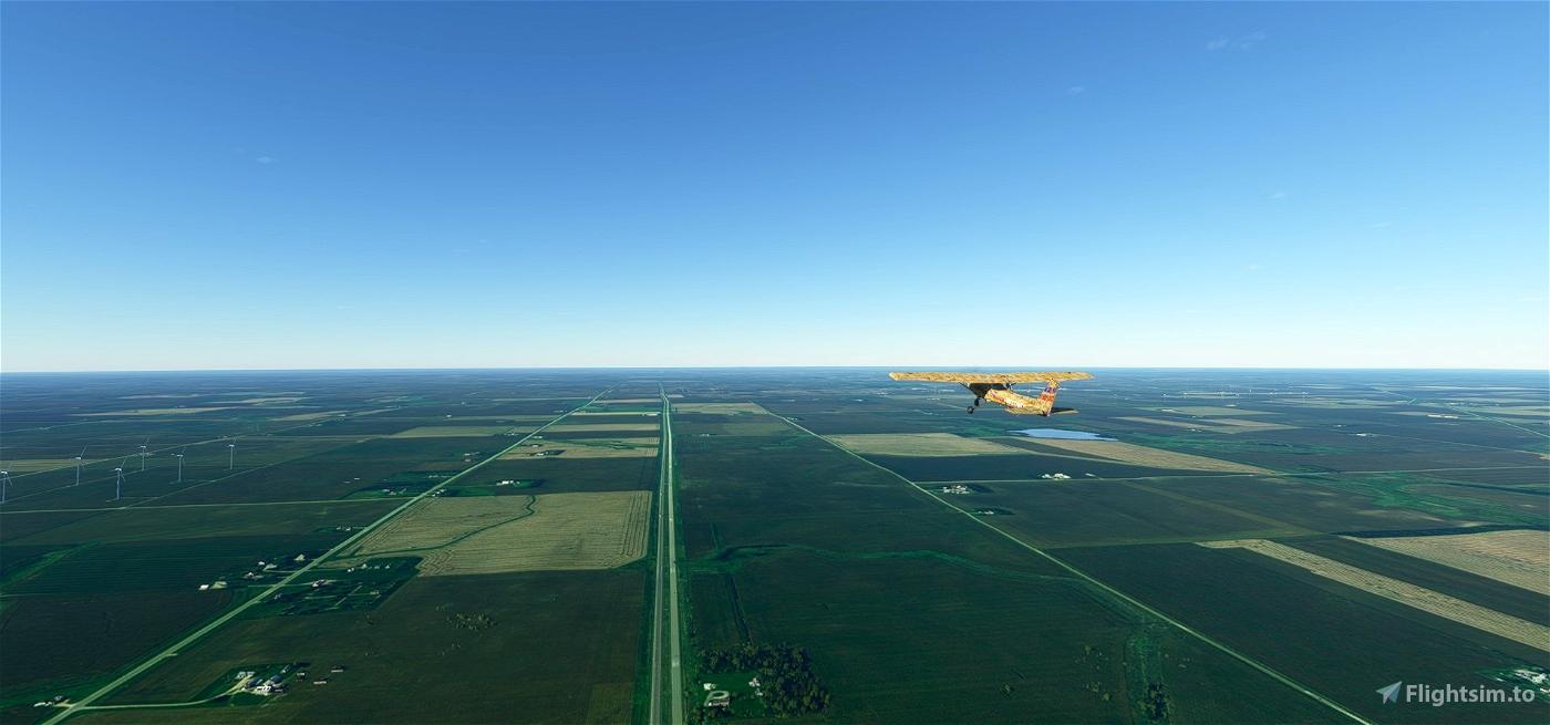 I-90 coast-to-coast flight plan
