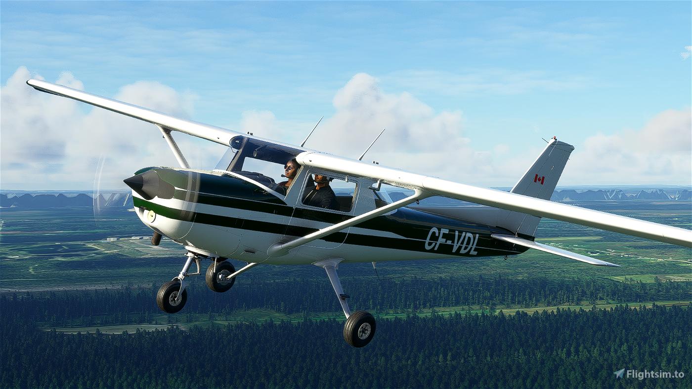 [4K] Cessna 152 CF-VDL livery Flight Simulator 2020