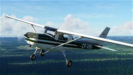 [4K] Cessna 152 CF-VDL livery Image Flight Simulator 2020