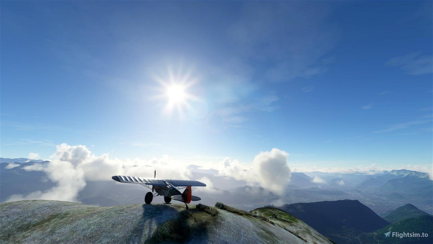 Pyrenean Bush Trip + dead stick challenge ! Flight Simulator 2020