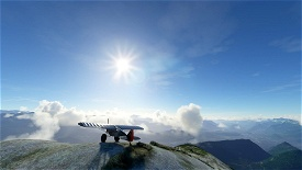 Pyrenean Bush Trip + dead stick challenge ! Image Flight Simulator 2020