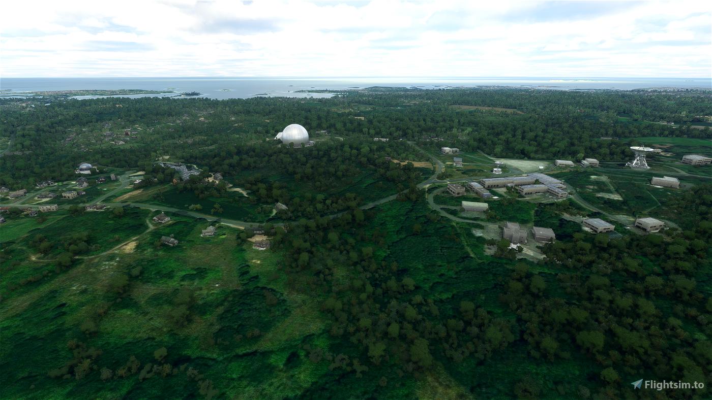 Pleumeur-Bodou Ground Station Flight Simulator 2020