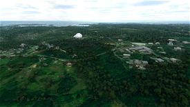 Pleumeur-Bodou Ground Station Image Flight Simulator 2020