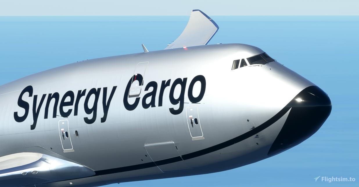 Synergy Cargo 747-8F [4K, 4 Variants, Working] Flight Simulator 2020