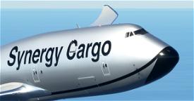 Synergy Cargo 747-8F [4K, 4 Variants, Working] Image Flight Simulator 2020
