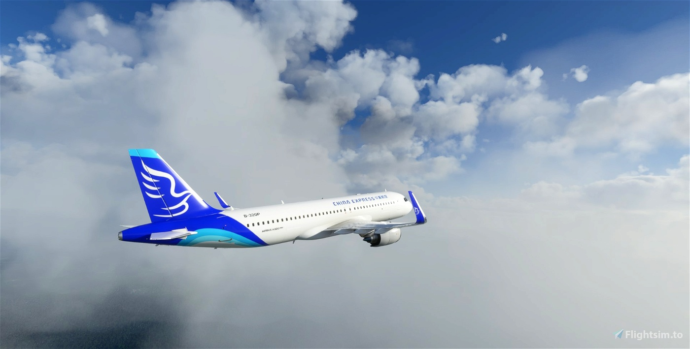 A320neo China Express B-320P