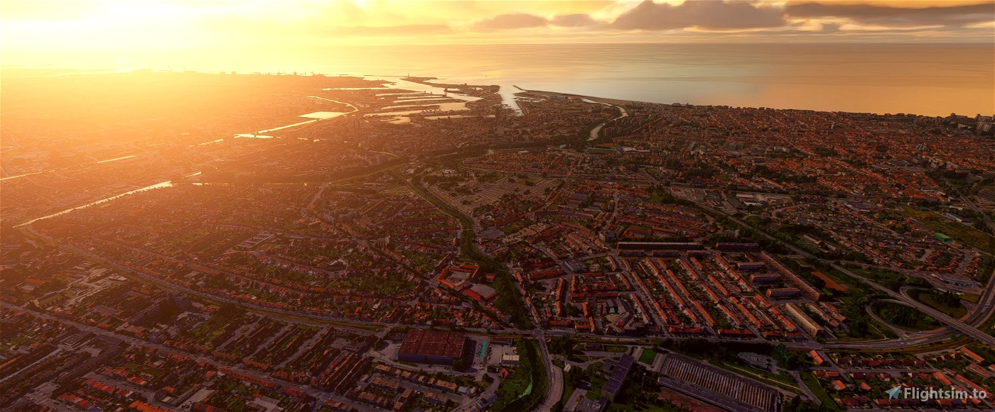 Dunkerque city, France