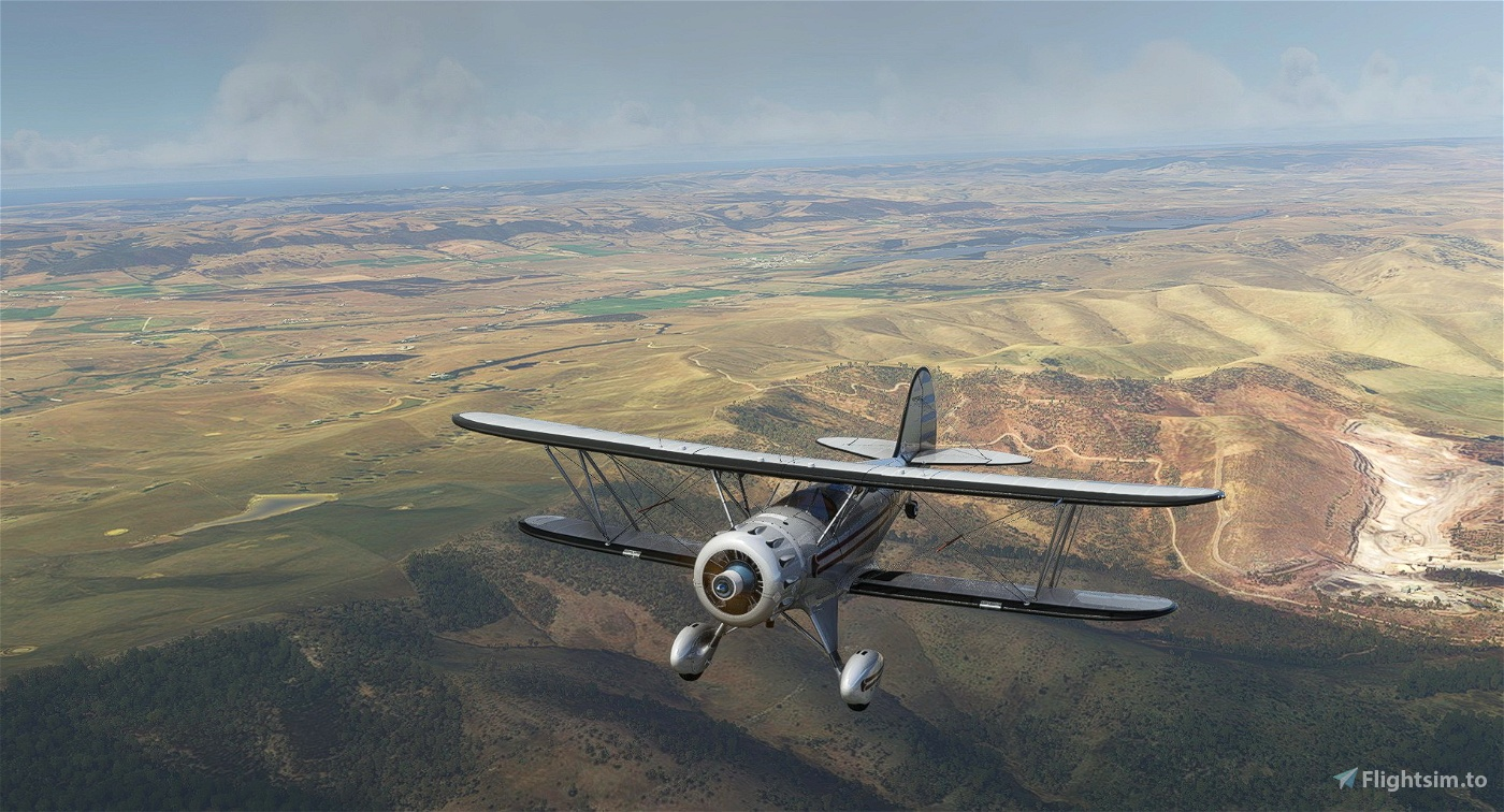 Waco YMF-5 VH-ONY