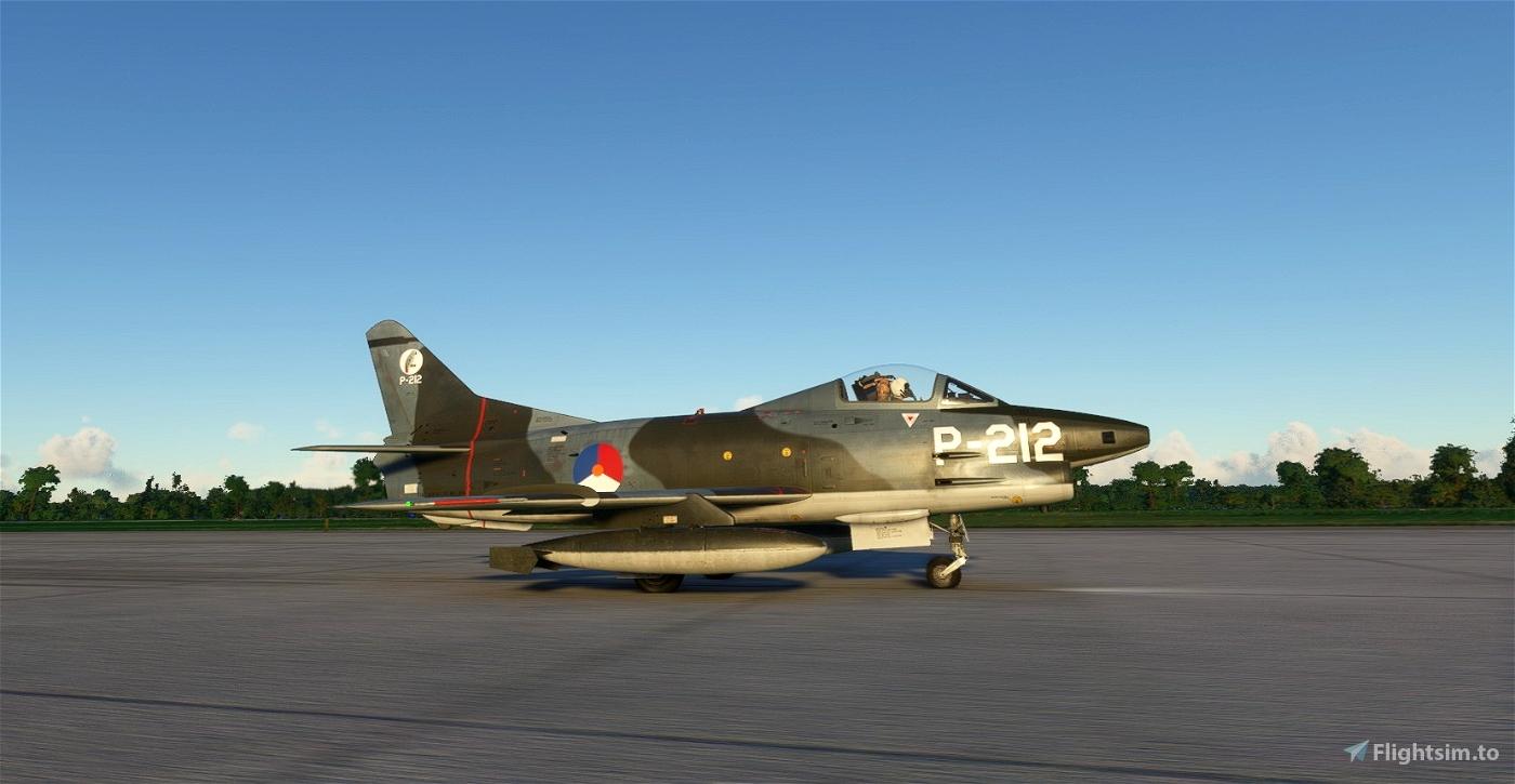 Fiat G-91 Royal Dutch Air Force Flight Simulator 2020