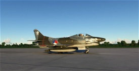 Fiat G-91 Royal Dutch Air Force Image Flight Simulator 2020