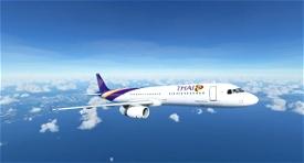 Airbus A321 Thai Airways Image Flight Simulator 2020
