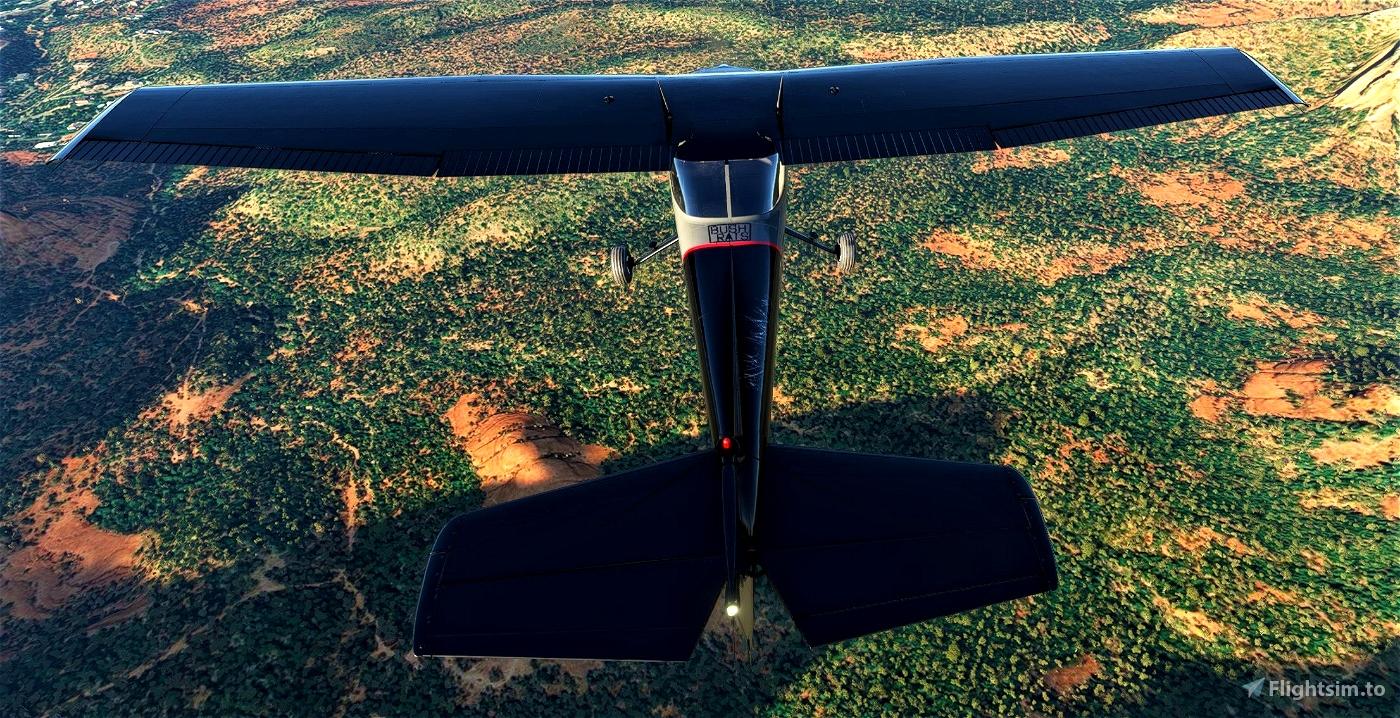 Cessna 152 Bushrats Livery