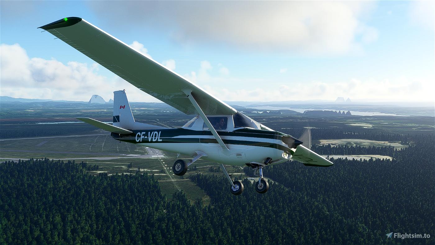 [4K] Cessna 152 CF-VDL livery