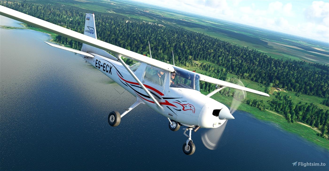 Cessna 152 Pakker Avio ES-ECX Flight Simulator 2020