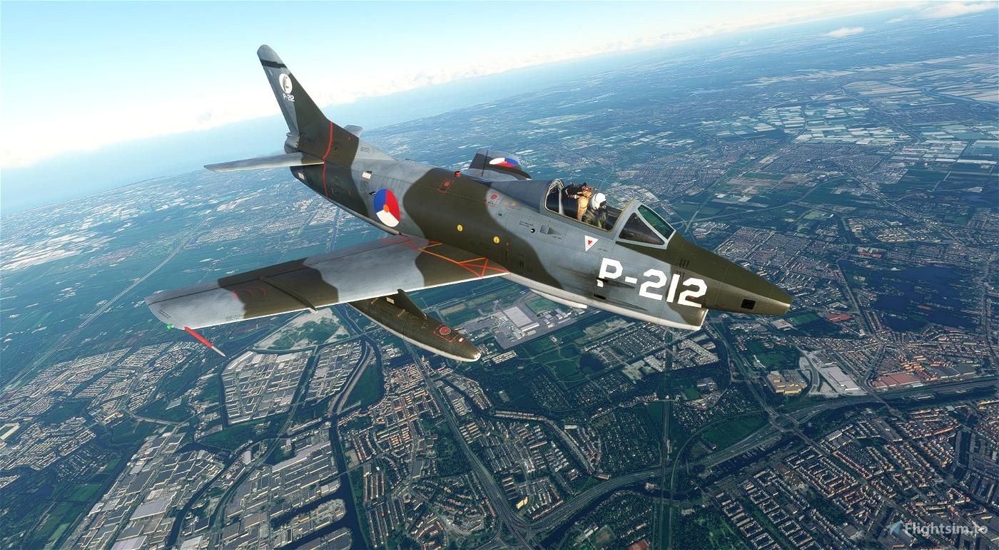 Fiat G-91 Royal Dutch Air Force