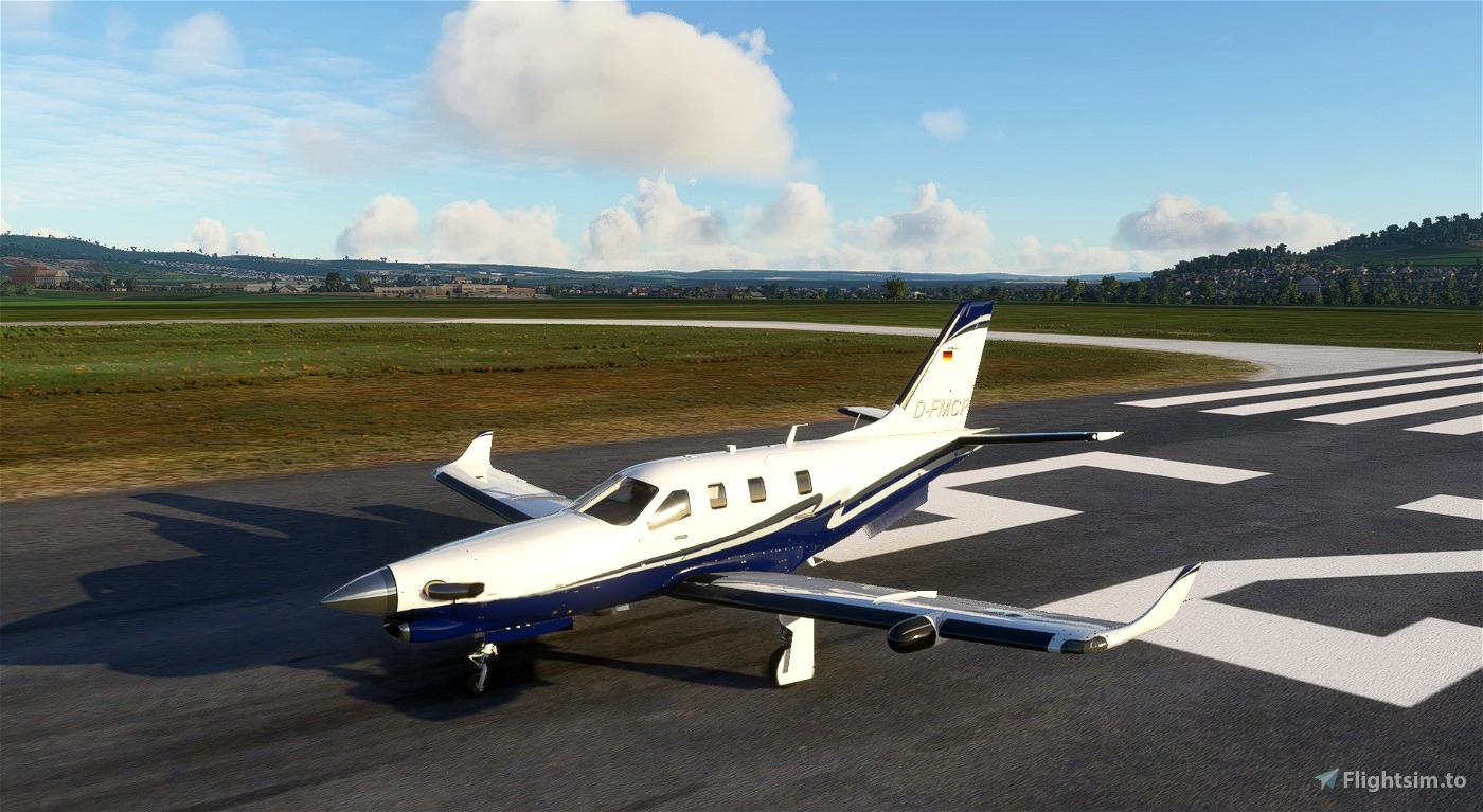 Daher TBM D-FMCP Flight Simulator 2020