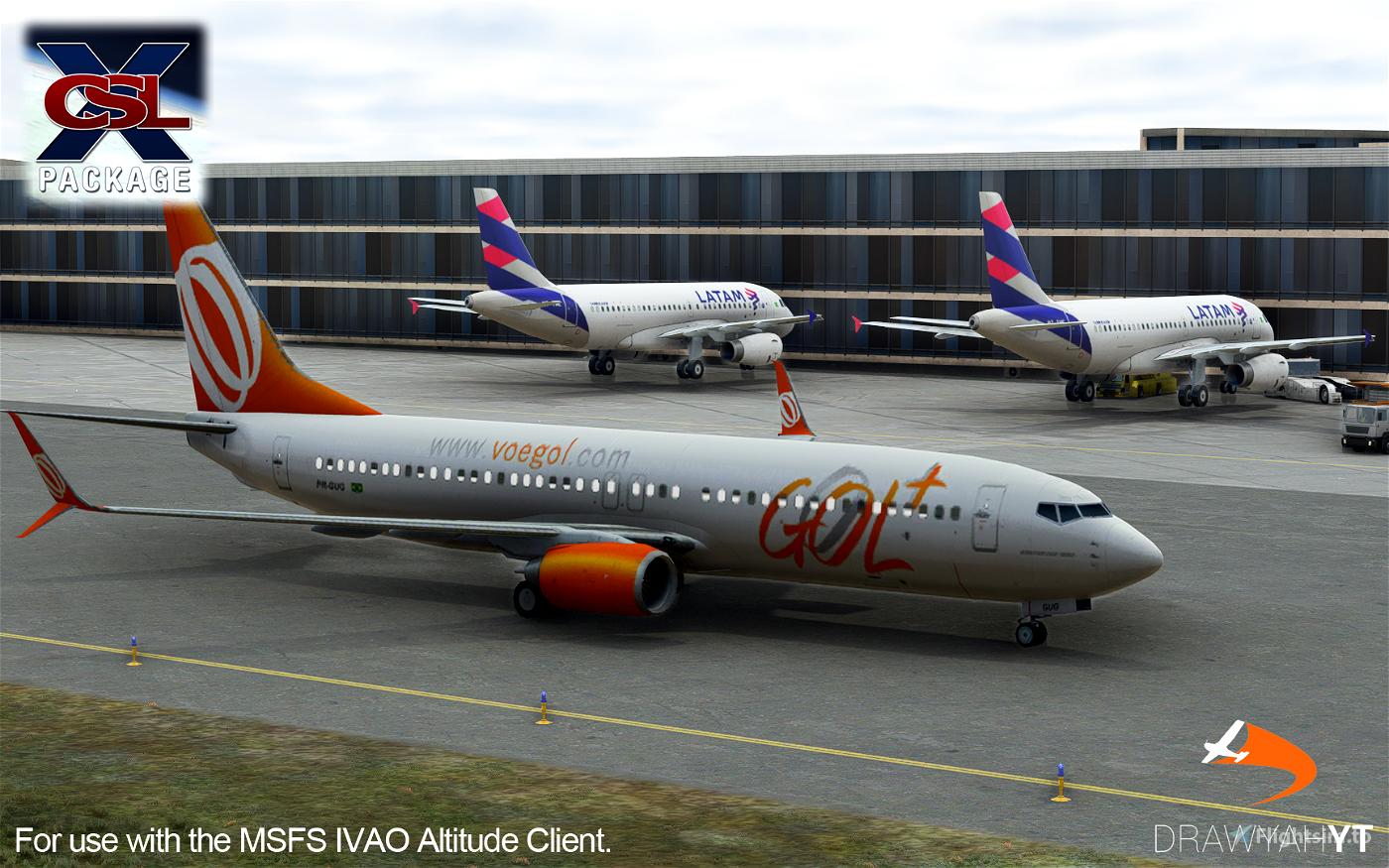 (IMPROVED!) IVAO Altitude X-CSL Model Matching Flight Simulator 2020