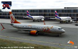 (IMPROVED!) IVAO Altitude X-CSL Model Matching Image Flight Simulator 2020