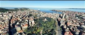 A Coruna,The galicia region of  Northwest Spain Image Flight Simulator 2020